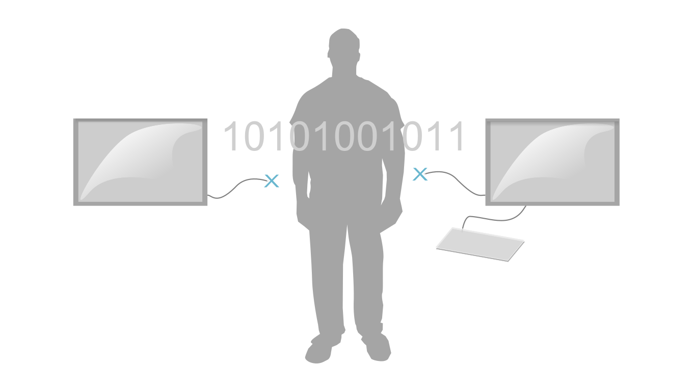 WCodes are to be used in-between two disconnected computer systems